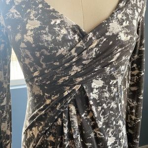Mini Fake Wrap Dress